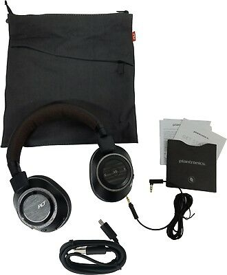 Plantronics BackBeat Pro 2 Wireless Noise Cancelling Headphones Black Tan SPRO16