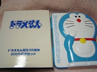 New Doraemon Birth 35th Anniversary 2005 Money Coin Set Japan Limited Anime Rare
