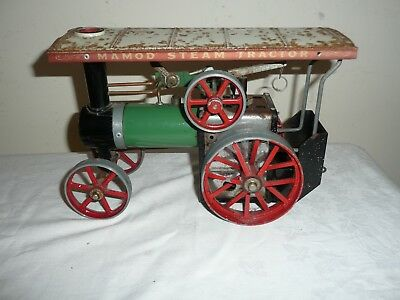 Mamod TE1A Steam Tractor, For Restoration or Parts, Original Used Condition.