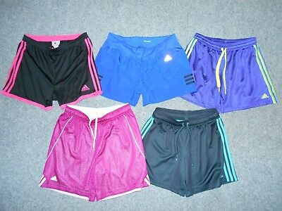 Nike 5 Pairs! Womens Medium Athletic Running Shorts Lot  / Dri-Fit            K3