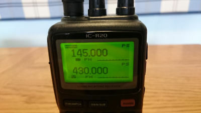 Icom Ic-R20 All Mode Handheld Communications Receiver / Scanner