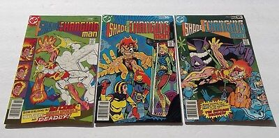 Lot of 3 Shade The Changing Man #3,4,5 VF+ High Grade Comic Books DC Deadly