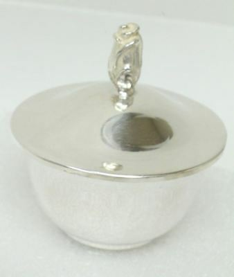 Tiffany & Co. Makers Sterling Silver Saccharine Bowl W/Lid  #23764 L