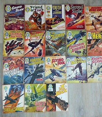 Air Ace Picture Library   x  18  All Pre-Decimal   VINTAGE WAR COMIC   Fleetway