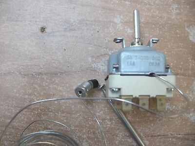 1  Thermostat EGO 55.34025.060   110grad  Thermostat  MKN Ambach  3-polig