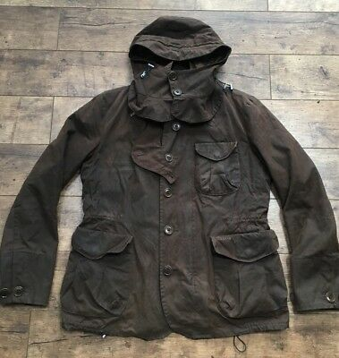 Barbour X To Ki To Rare Ltd Edition Olive Brown Tokito Wax Driving Jacket Large