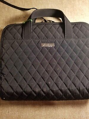 VERA BRADLEY Hanging Organizer NWT Classic Black Travel Makeup Case Cosmetic Bag