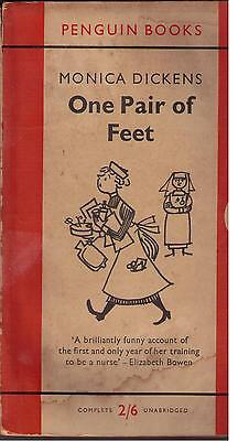PENGUIN NOVEL – ONE PAIR of FEET - by MONICA DICKENS NO 969  - 1956