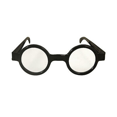 Kids Round Glasses Harry Potter Style Black Geek  Nerd Wizard Lot
