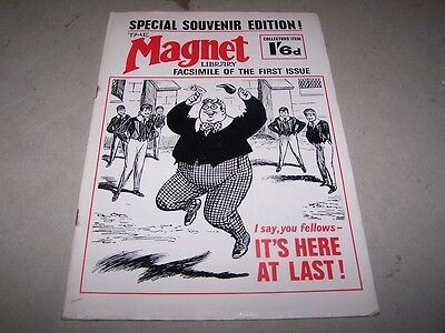 Facsimile of the 1st issue of The Magnet produced in August 1965