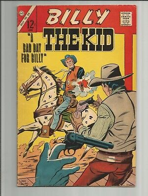 Cdc Comics Billy The Kid #61  A Bad Day For Billy  June 1967 Fine