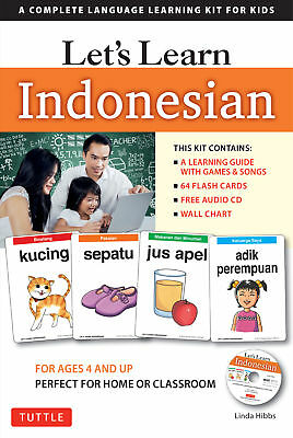 Let's Learn Indonesian  'A Complete Language Learning Kit for Kids  Hibbs, Linda