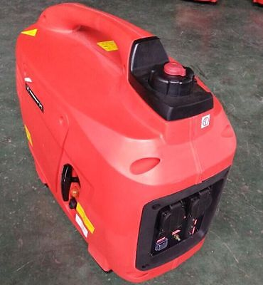 DIGITAL PETROL GENERATOR SILENT SUITCASE 2 KVA 2 year uk warranty last few reduc