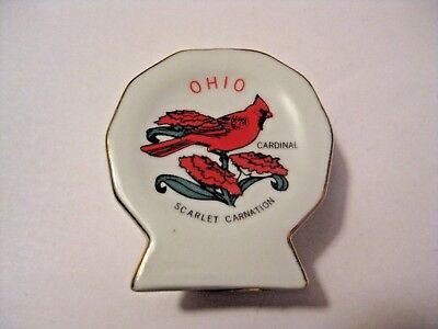Vintage Ohio Scarlet Cardinal Bird Toothpick Holder ~ See All Our Holders
