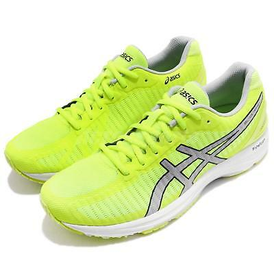 Asics Gel-DS Trainer 23 Safety Yellow Grey Men Running Shoes Sneakers T818N-0796
