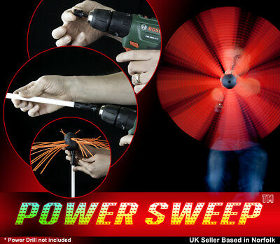 Chimney Brush Sweep Power Sweep Chimney DIY Kit Flexible Full Set