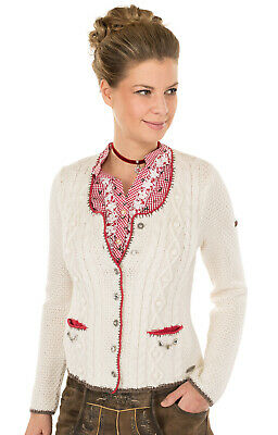 Spieth & Wensky Traditional Knitted Jacket Aida off White