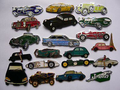 lot 20 pin s automobile toutes marques different neuf