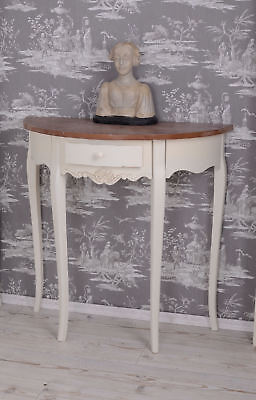 Rustic Wall Console Sideboard Table Villa Vintage Country House Style