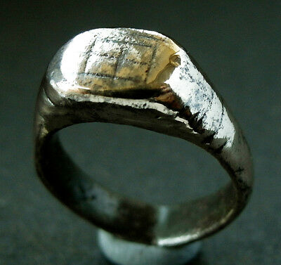 SUPERB  GENUINE ROMAN Æ RING - wearable