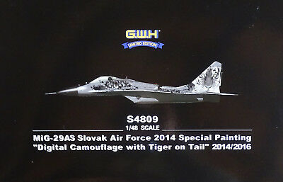 LION ROAR® S4809 MiG-29AS Slovak Air Force 2014 Special Painting in 1:48