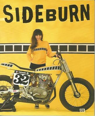 SIDEBURN - Flat Track Magazine No.32  (NEW COPY)*Post included to UK/Europe/USA