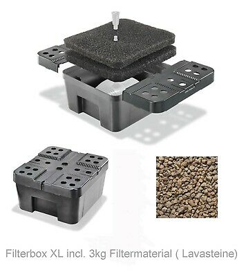 Filter Box XL Filter Pond Filter for Solar Pump Solar Pond Pump Pond Pump