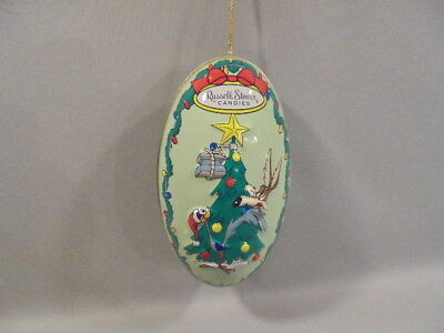 """Looney Tunes-Drolliges Ei-Ornament """"WILLE E COYOTE & ROAD RUNNER""""1997"""