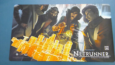 Android Netrunner Run Amok Playmat - Store Championships 2016 - NEW