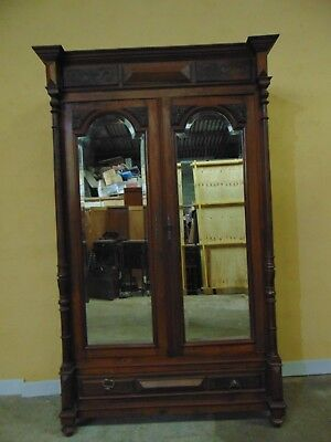 French LOUIS XVI  hand carved  armoire C1890