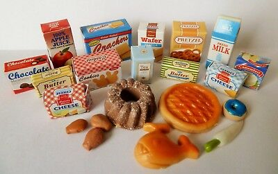 SYLVANIAN FAMILIES SPARES * MIXED FOOD + DRINK SET NO. 3 * COMBINED P+P NEW s10