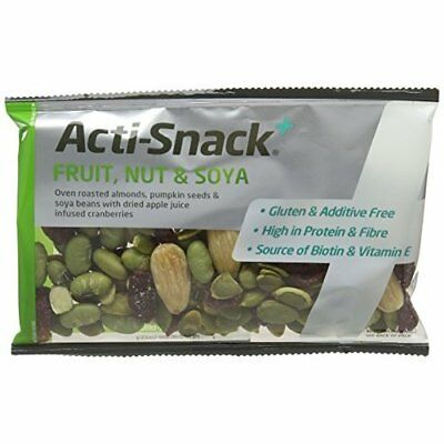 Acti-Snack Fruit Nut and Soya Impulse 40 g (Pack of 12)