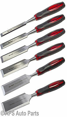 """Wood Chisels For Carpenters Woodwork Carving Tool 1/2"""" 3/4"""" 1"""" 1-1/4"""" 1-1/2"""" 2"""""""