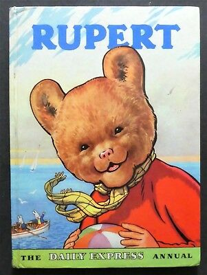 Rupert Annual 1959..original..not Inscribed Or Clipped...paint Contest Untouched