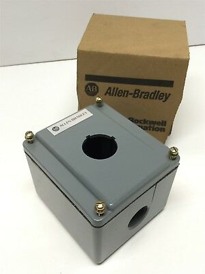 Allen Bradley 800T-1TZ Ser T Pushbutton Enclosure Electrical Box, 1-Unit, 30mm