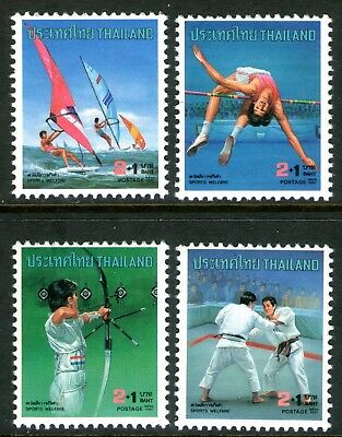 Thailand 1990 Sports Welfare set of 4 Mint Unhinged