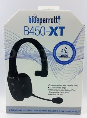 VXi Blue Parrot B450-XT Noise Cancelling Trucker Bluetooth Cell Phone Headset