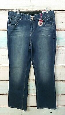 New Lane Bryant Tighter Tummy Technology Bootcut Jeans Sz. 16 Long Nwt