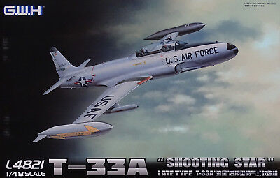 LION ROAR® L4821 US Air Force T-33A Shooting Star Late Type in 1:48