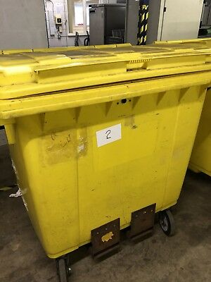 1100ltr Wheelie Bin  With Forklift Pockets