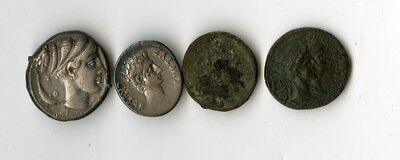 4 Assorted Ancient Coins