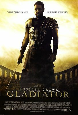 Gladiator - original DS movie poster 27x40 D/S - INTL Final - Russell Crowe