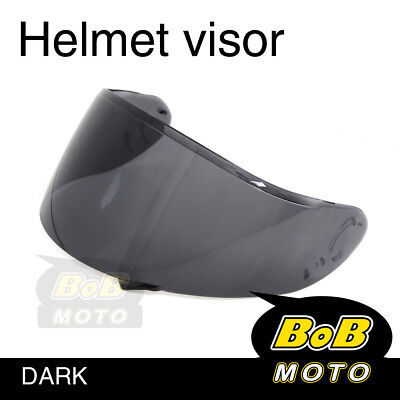 Smoke Tinted Shield Helmet Visor Fit GT AIR Shoei Neotec GT-Air