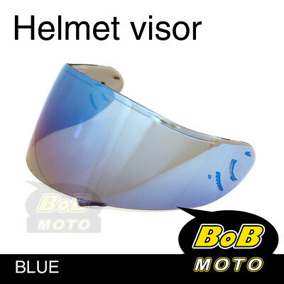 Blue Tinted Shield Helmet Visor Fit Shoei X-SPIRIT 2 Qwest X-Twelve