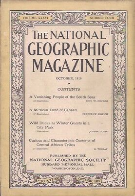 national geographic-OCT 1919-A VANISHING PEOPLE OF THE SOUTH SEAS.