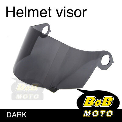Smoke Tinted Shield Helmet Visor Fit Suomy Excel Ultra Tech Spec 1R Extreme