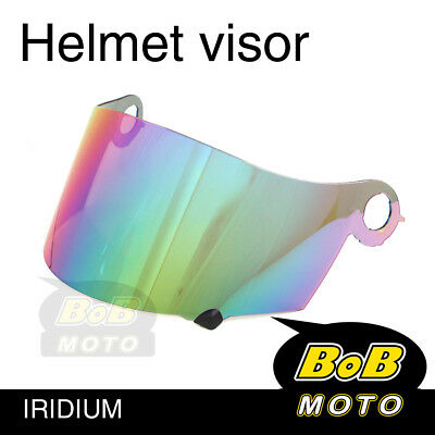 Iridium Tinted Shield Helmet Visor Fit Suomy Excel Ultra Tech Spec 1R Extreme