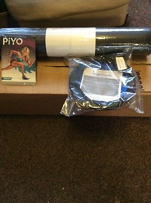 beach body piyo strength set DVD Fitness Mat And 2 Strength Slides Included
