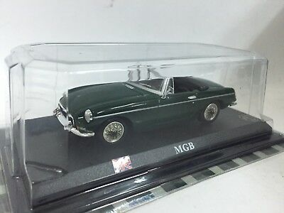 NEW UK British MG marque Vintage MGB Roadster 1:43 TOY Sport Toy Car RARE