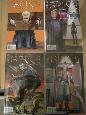 """SPIKE (BUFFY) : """"AFTER the FALL"""" : COMPLETE  4 ISSUE SERIES by IDW. 2008"""